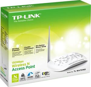 Punto de acceso TP-LINK TL-WA701ND Wireless 150N antena extraible Atheros Poe