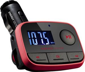 Transmisor FM-t Energy Sistem car MP3 f2 racing red USB host line-in