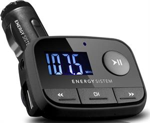 Transmisor FM-T Energy Sistem car MP3 F2 black Knight USB host line-in