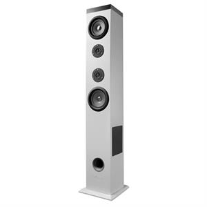 Torre de sonido Energy Sistem 2.1 Tower 5 bluetooth white 60W, Touch panel, USB/Sd y FM