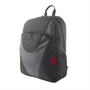 Mochila Trust 19806 Lightweight Backpack , black grey , ligera ,  negra gris  para portatil hasta 16