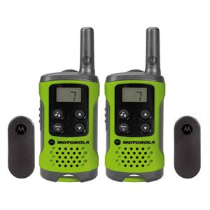 Pack de 2 unidades Walkie Talkies Motorola T41 VERDE , PMR446