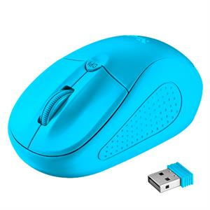 Raton inalambrico Trust 21921 Primo , neon blue wireless Mouse  , azul