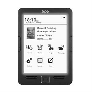 Libro electronico SPC 5609N ,  Dickens light ,  6 , 8gb + micro sd