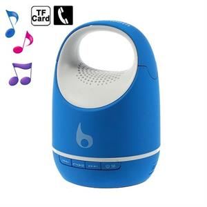 Altavoz portatil Bluetooth azul