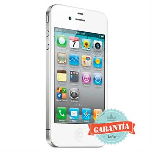 Telefono movil Iphone 4S 16 GB Libre Blanco ECO- RECICLADO GRADO A