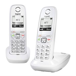 Dect Siemens Gigaset AS405 Duo Blanco