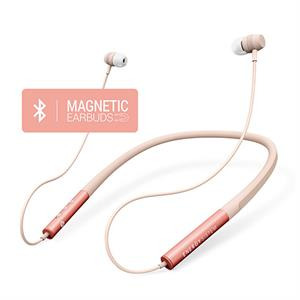 Auriculares bluetooth Energy  Neckband 3 Bluetooth rose gold magnetic Earbuds