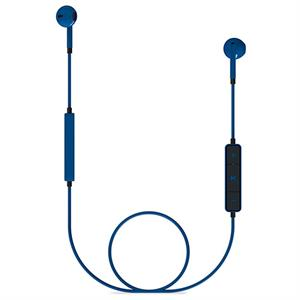 Auriculares boton c/micro bluetooth Energy Earphones 1 blue