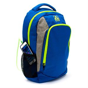 Mochila para portaitl 15 M-EDGE RELAY + powerbank 6000 , Azul Lima , 24.5 L