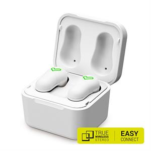 Auriculares bluetooth intrauditivos Energy Earphones Style 6 True Wireless White caja cargadora