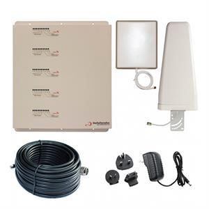 Stella Home KIT SD-RP1002-LGDWH 1000Mt2  5 Band Repeater (800+900+1800+2100+2600Mhz)+ 2 Antena interior SMA  5 bandas + 12 metros cable
