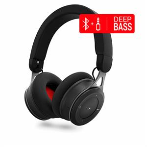 Auriculares bluetooth Energy Headphones BT Urban 3 Black Deep Bass metalico