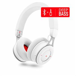 Auriculares bluetooth Energy Headphones BT Urban 3 White Deep Bass metalico