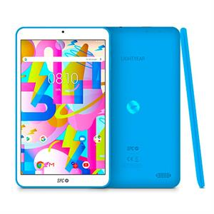 Tablet SPC 9744216A Lightyear 8  ips hd , 2 + 16 GB ,  azul , opcion micro sd 128gb