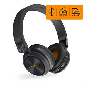 Auriculares bluetooth Energy Headphones BT Urban 2 Radio Graphite MP3 Micro SD player