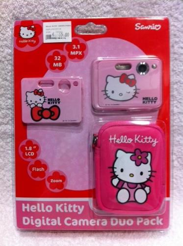 HELLO KITTY CAMARA 3.1 MPX