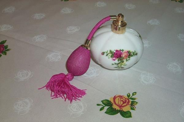 Royal Albert vaporizador de perfume Old Country Roses