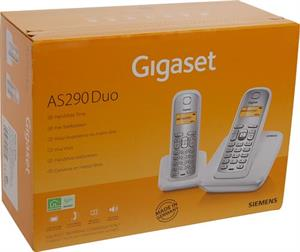 Dect duo Gigaset AS290 white / silver