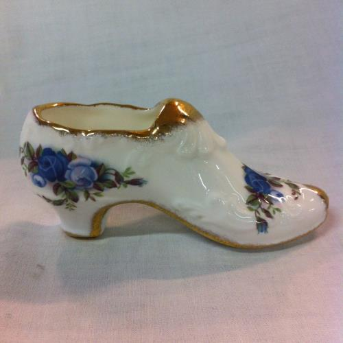 Royal Albert zapato Moonlight Rose