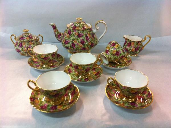 Royal Albert juego de té Old Country Roses: Chintz collection