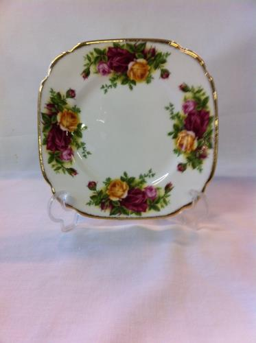 Royal Albert plato cuadrado 15cm Old Country Roses
